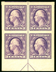 # 484 SUPERB JUMBO  OG NH, Bottom Arrow Block, undervalued in the catalog.  SCARCE!