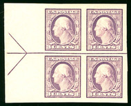 # 483 XF OG NH, Left Arrow Block, Way Undervalued in Scott's,   SUPER NICE!