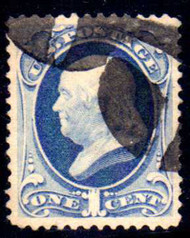# 182 XF-SUPERB, w/PSE (GRADED 90 (02/11)) CERT,  big stamp with choice centering, looks much nicer than a 90.