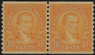 # 603 XF-SUPERB OG NH, Pair, w/PSE (GRADED 95 (01/14)) CERT,   Super nice pair,  CERT 01275819