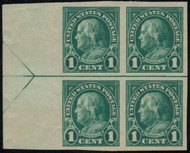 # 575 VF/XF OG NH, Left Arrow Block, Select!