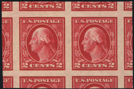 # 409 JUMBO GEM OG NH,  Pair, w/PSE (GRADED 100 JUMBO (09/17)) CERT, TOP OF THE POPULATION!  A wonderful pair with super color and margins,  only 5 listed at this grade,  SHOWPIECE!