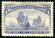 # 233 XF-SUPERB OG LH,  WOW! A most impressive stamp with near perfect centering,  A GEM!