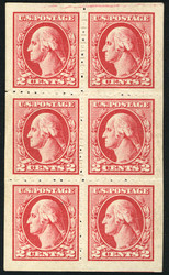 # 532v VF OG NH, PRIVATE ROULETTING, w/PF (04/06) CERT,  a RARE large multiple, one stamp with thin,   SUPER RARE!