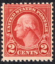 # 595 F/VF OG NH, w/ PSE (08/18) CERT (copy from a block), great color, highly counterfeited stamp, should always buy with a CERTIFICATE!  FRESH!