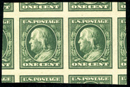 # 383 MONSTER GEM OG NH, Pair, w/PSE (GRADED 100 JUMBO (08/18)) CERT, oversized margins,  VERY FRESH!   TOP OF THE POPULATION!