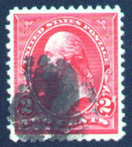 # 267 XF-SUPERB, nice large margins seldom seen on this issue