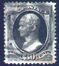 # 190 XF JUMBO, w/PSE (GRADED 85 (02/06)) and (07/03) CERTS, reduced because of a heavy cancel, a usual cancel for this issue.    A GEM!
