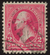 # 267 VF/XF, huge stamp with nice centering, Choice!