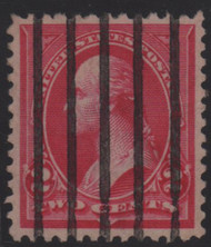 # 267 XF-SUPERB, w/PSE (GRADED 95 (03/08)) CERT,  bold color, grade reduced due to cancel, A Superior Stamp!