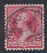 # 220 XF, w/PSE (GRADED 90 09/09)) CERT, Grade reduced because of cancel,  Big Stamp!