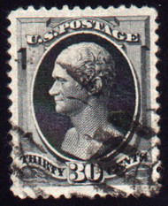 # 190 XF JUMBO, w/PSE (GRADED 90 - JUMBO (03/10)) CERT,  stunning stamp with rich bold color,  Huge Margins!