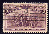 # 231 VF/XF JUMBO, w/PSE (GRADED 90 (12/07)) CERT, big stamp, nice cancel