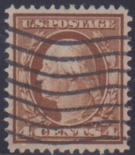 # 334 XF-SUPERB, w/PSE (GRADED 95 (05/14)) CERT, nice wavy line cancel, CHOICE!  CERT  01283140