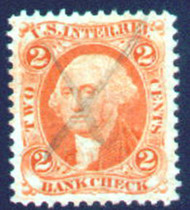 #R  6c SUPERB JUMBO, w/PSE (GRADED 85 (03/06)) CERT, Tough to find any revenues above a 75.  Nice stamp super fresh color