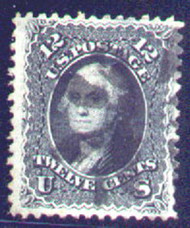 #  69 XF-SUPERB JUMBO, large even margins, perfs well clear of design.  A very select stamp, seldom seen this nice.  GEM!