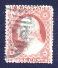 #  26 SUPERB, a common stamp that is never found in this condition.  The perfs clear the margin all around.  Choice!