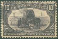 # 290 XF-SUPERB, w/PSE (GRADED 95 (01/05)) CERT, a select used stamp, faintly canceled, GEM!   CERT 00132008