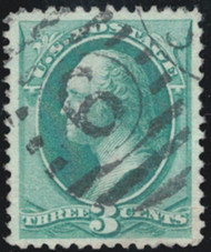 # 184 VF/XF, w/PSE (GRADED 85 (08/13)) CERT, nicely centered,  CERT 01268928