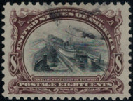 # 298 SUPERB, large even margins, seldom seen on this issue, rich fiery color and a light cancel, Choice!