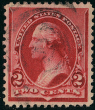 # 220 XF, w/PSE (GRADED 90 (11/13)) CERT, looks nicer, noted light color bleed,  Still Nice!
