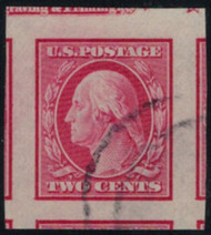 # 344 GEM, w/PSE (GRADED 100 (07/17)) CERT, only 3 singles grade higher,  large even margins, lovely cancel, SUPER CHOICE!