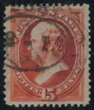 # 189 XF JUMBO, w/PSE (GRADED 90 JUMBO (06/06)) CERT, a super stamp with large margins,  nicely centered, fresh color,  GEM!