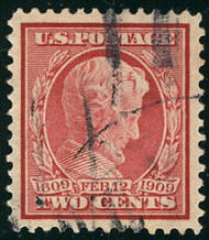 # 369 XF-SUPERB, w/PSE (GRADED 95 (10/18)) CERT, a fabulous stamp big jumbo margins,  super fresh color, faintly canceled,   only 1 98 grades higher,  SUPER CHOICE!