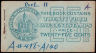 # 498e BK53 COMPLETE BOOK, ink on cover, Scarce