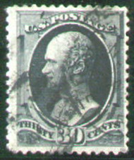 # 165 F/VF terrific color and cancel, Select!