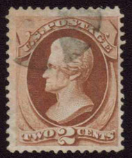 # 146 F/VF, nice fresh color, lighter cancel, nice