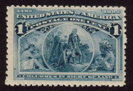 # 230 F/VF OG NH, fresh stamp, low price
