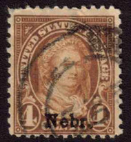 # 673 F/VF, used, nice cancel,