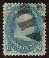 #  63 VF/XF, deep rich color with nice centering,  Choice Stamp