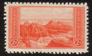 # 741 SUPERB JUMBO OG NH, select 2c Parks issue, GEM!