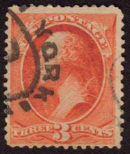 # 214 F/VF nice cancel, fresh color
