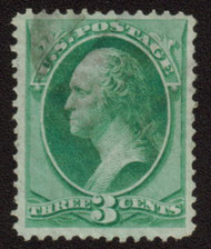 # 136 VF/XF, nice faint cancel, select stamp