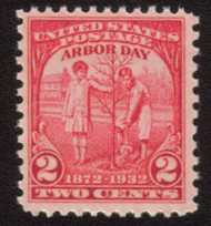 # 717 F/VF OG NH or better-Stock Photo - you will receive a comparable stamp
