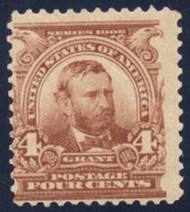 # 303 F/VF OG NH, crease,  nice looking stamp