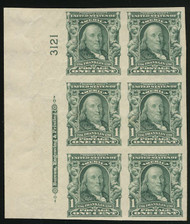 # 314 VF/XF OG NH, Side, Choice!