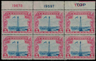 #C 11 VF/XF OG NH, Double Top,  well centered and fresh!