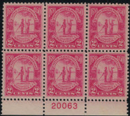 # 683 VF/XF OG NH, well centered!