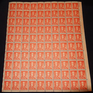#1030 1/2c Benjamin Franklin, Full Sheet, F-VF OG NH or better, post office fresh,  STOCK PHOTO