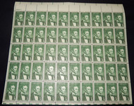 #1113 1c Lincoln, Full Sheet, F-VF OG NH or better, post office fresh,  STOCK PHOTO