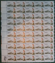 #1935 18c James Hoban, VF OG NH, Full Sheet, Post Office Fresh, STOCK PHOTO!