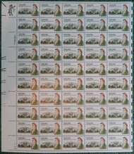 #1936 20c James Hoban, VF OG NH, Full Sheet, Post Office Fresh, STOCK PHOTO!