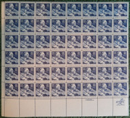#1950 20c Franklin D Roosevelt, VF OG NH, Full Sheet, Post Office Fresh, STOCK PHOTO!