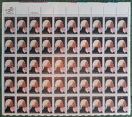 #1952 20c George Washington, VF OG NH, Full Sheet, Post Office Fresh, STOCK PHOTO!