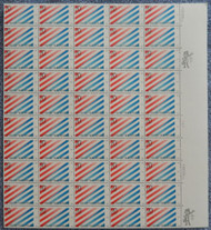 #2003 20c US / Netherlands, VF OG NH, Full Sheet, Post Office Fresh, STOCK PHOTO!