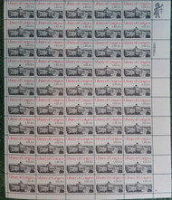 #2004 20c Library of Congress, VF OG NH, Full Sheet, Post Office Fresh, STOCK PHOTO!
